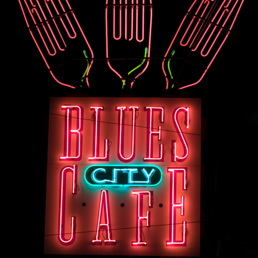 Blues City Cafe by Carol M. Highsmith