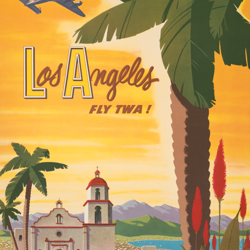 Los Angeles - fly TWA! by undefined