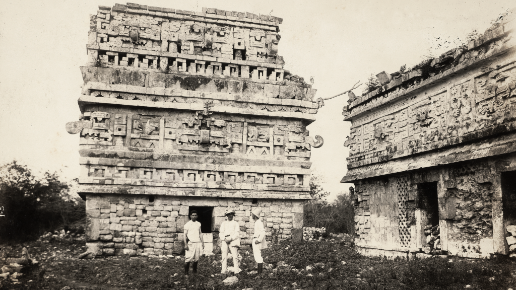 Palace of the Nuns, Chichén Itzá by Désiré Charnay