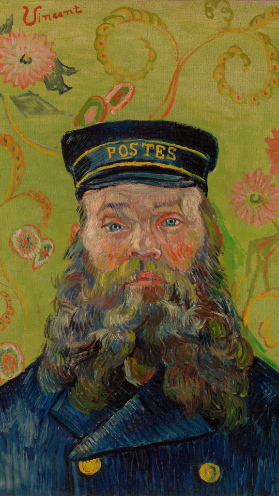 The Postman (Joseph-Étienne Roulin) by Vincent van Gogh