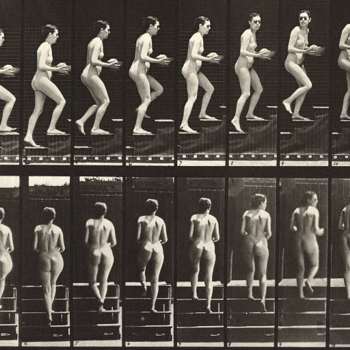 Animal Locomotion by Eadweard J. Muybridge