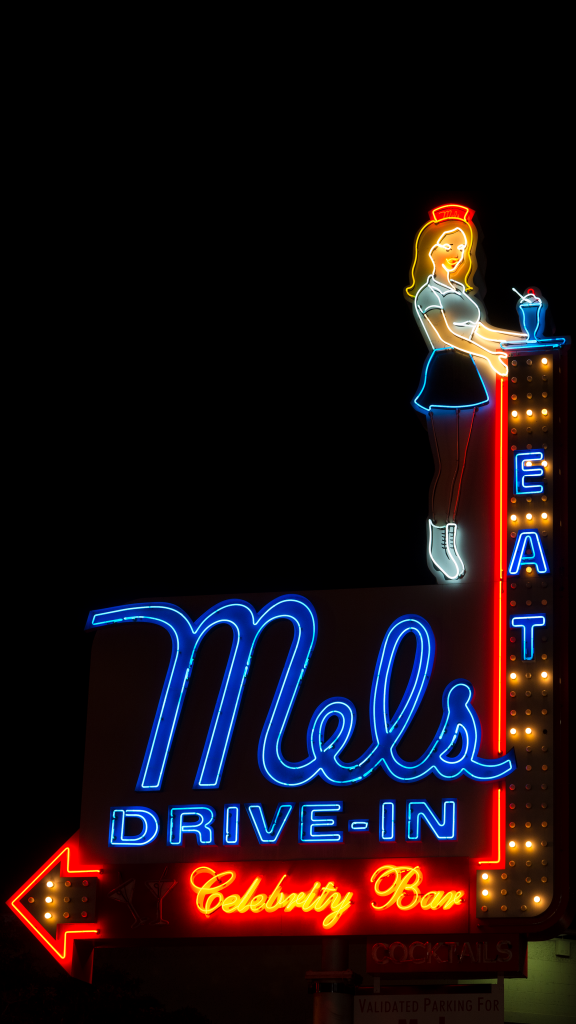 Mel's Drive-In by Carol M. Highsmith