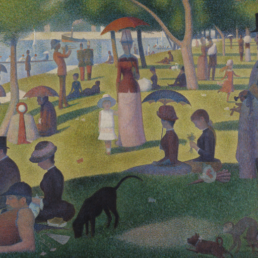 A Sunday on La Grande Jatte by undefined