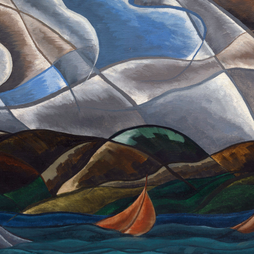 Clouds and Water by Arthur Dove