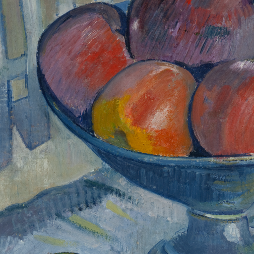 Fruit Dish on a Garden Chair by undefined