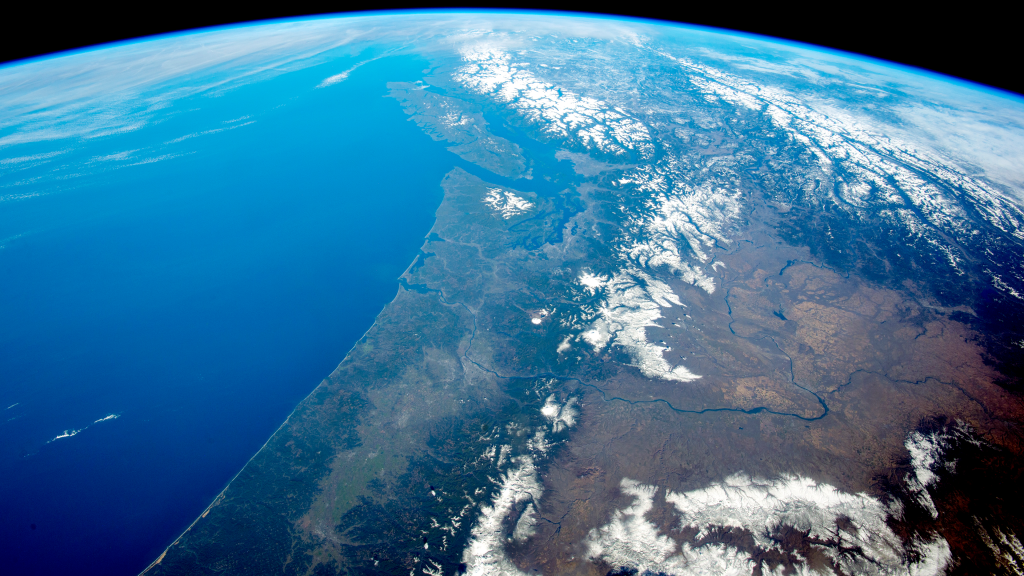 Panorama of the Pacific Northwest by NASA
