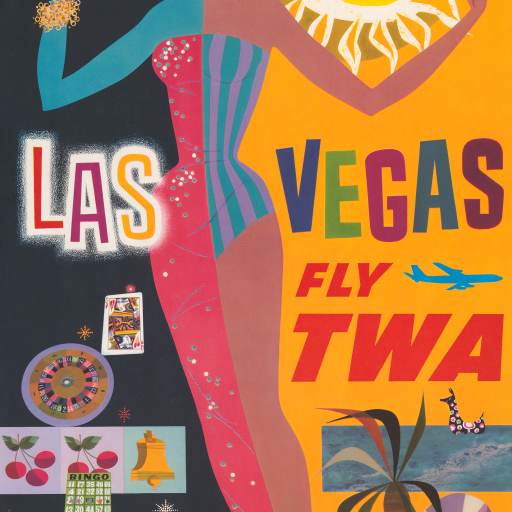 Las Vegas - fly TWA by undefined