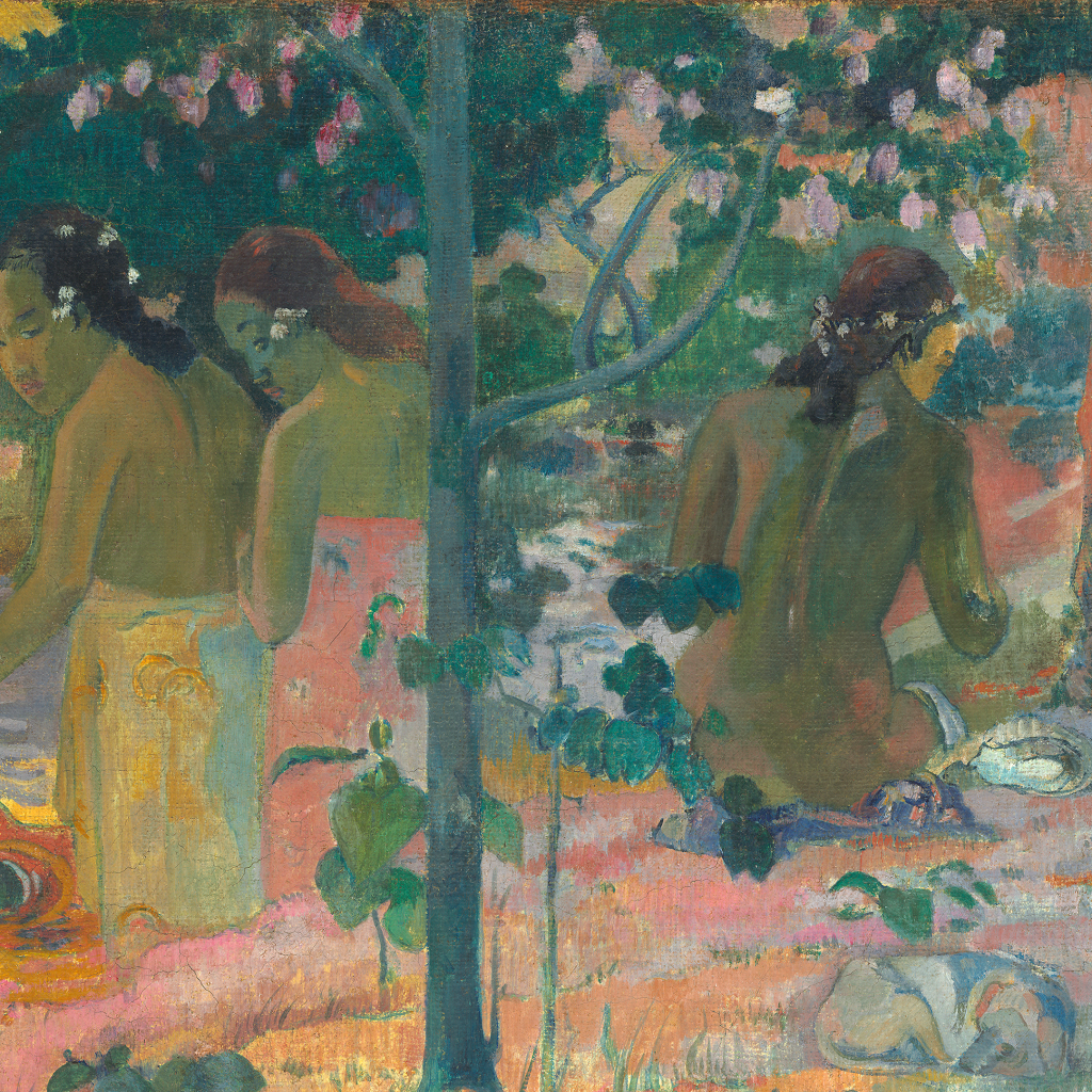 The Bathers by Paul Gauguin