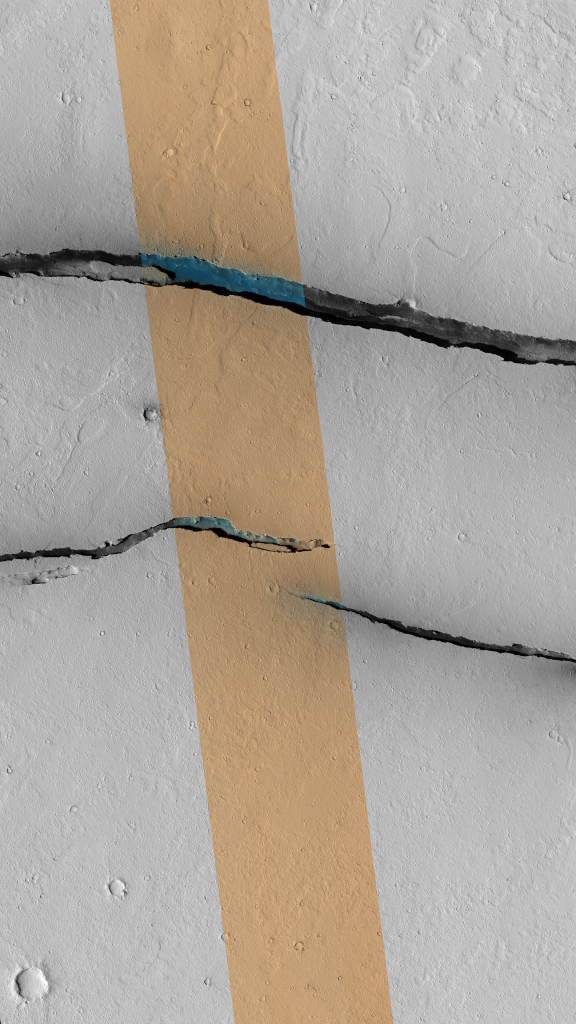 Cerberus Fossae Traverse by NASA