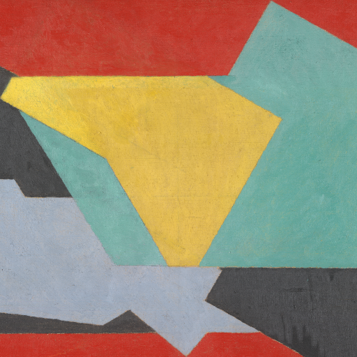 Color perspective (Horizontal) by Jacques Villon
