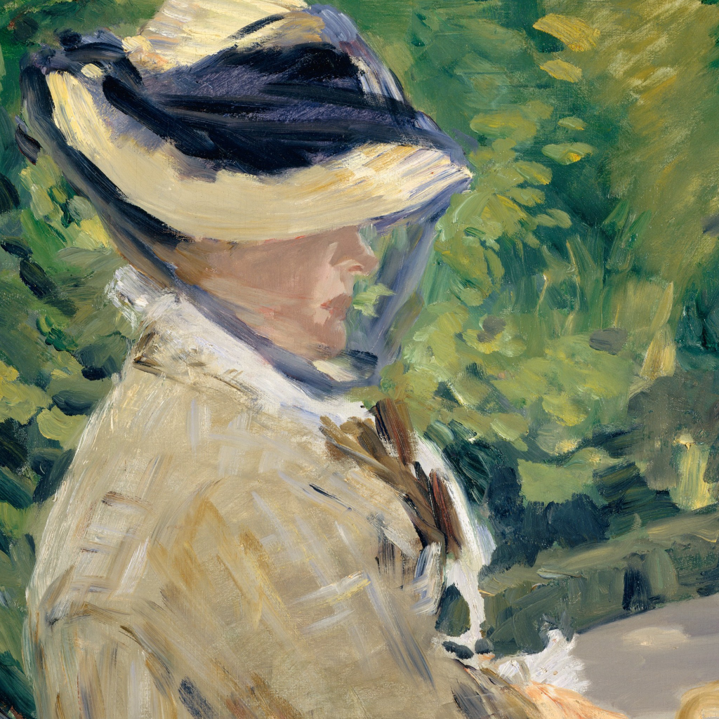 Madame Manet (Suzanne Leenhoff, 1830–1906) at Bellevue by Edouard Manet