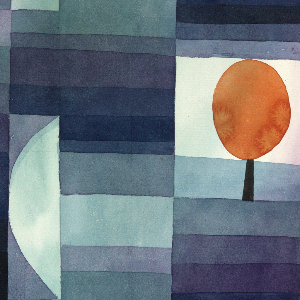 The Harbinger of Autumn  by Paul Klee