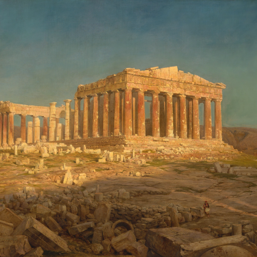 The Parthenon by Frederic Edwin Church