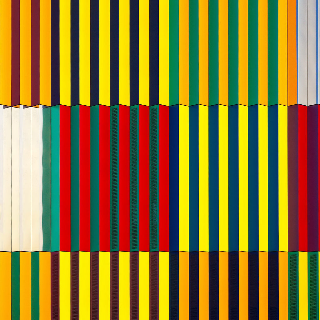 Light and Coloured Verticals by undefined