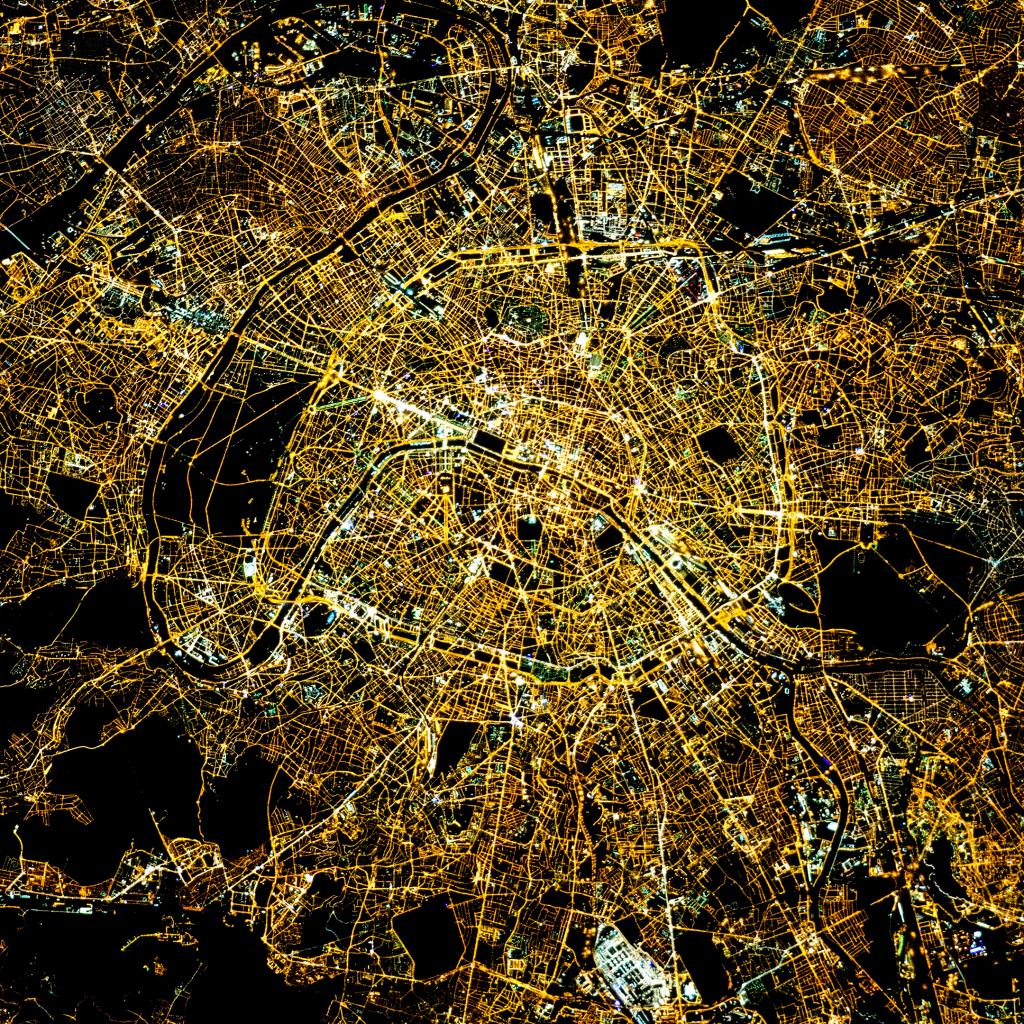 City of Light by NASA