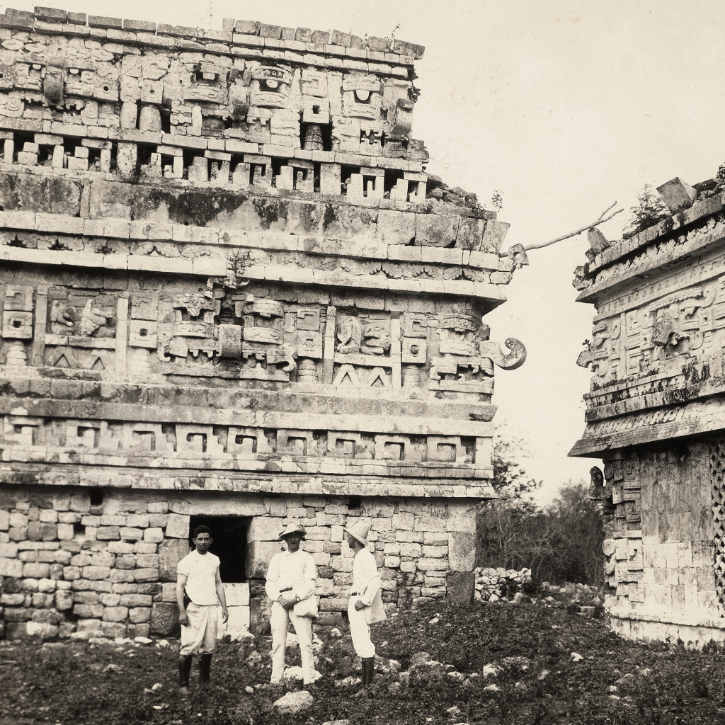 Palace of the Nuns, Chichén Itzá by undefined
