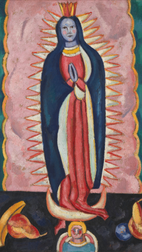 The Virgin of Guadalupe by Marsden Hartley