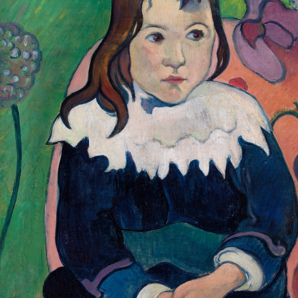 Mr. Loulou (Louis Le Ray) by Paul Gauguin