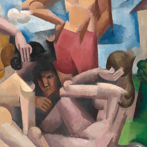 The Bathers by Roger de La Fresnaye