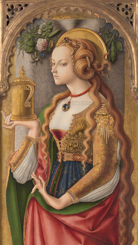 Mary Magdalene by Carlo Crivelli