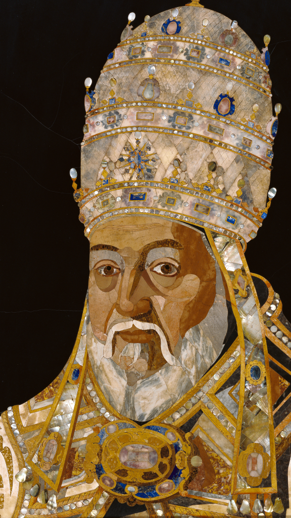 Portrait of Pope Clement VIII by Jacopo Ligozzi