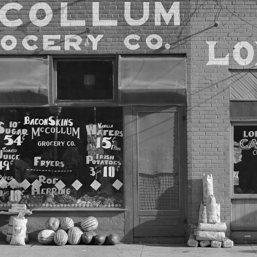 Grocery Store. Greensboro, Alabama by Walker Evans